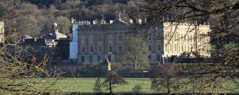 chatsworth house for a beautiful stroll