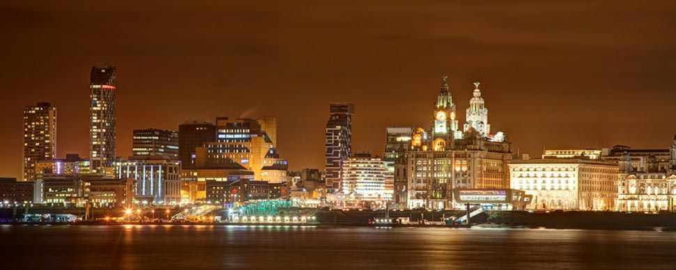 Liverpool night life in the city