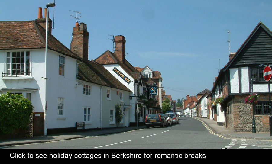 romantic breaks in Berkshire holiday cottages