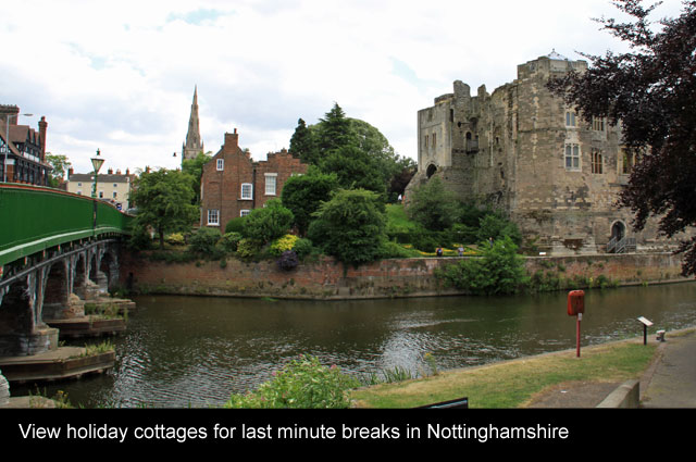 holiday cottages nottinghamshire romantic breaks
