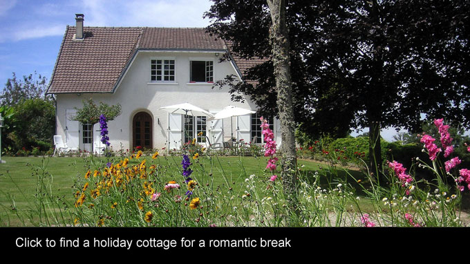 holiday cottages romantic breaks uk