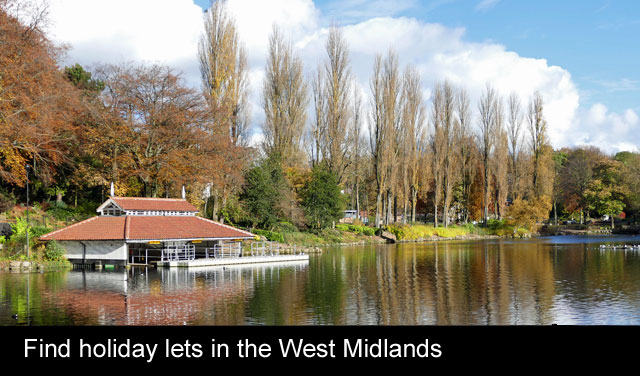 romantic holidays in the west midlands