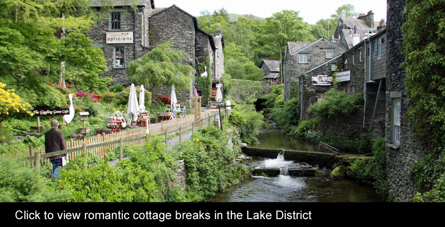 lake district romantic cottages holiday
