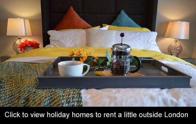 holiday homes london last minute romantic