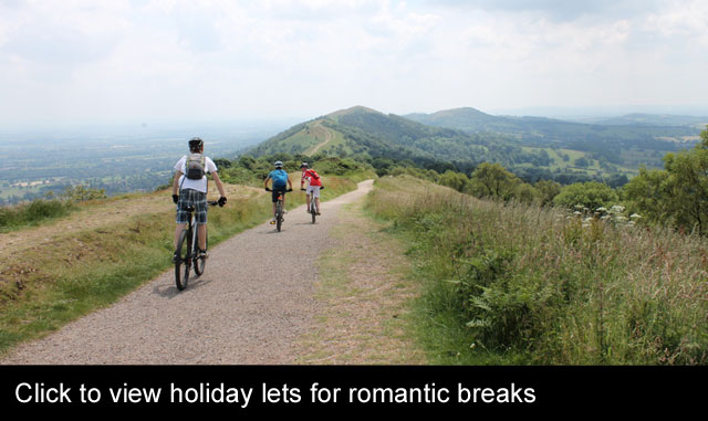 romantic break holiday cottages worcestershire
